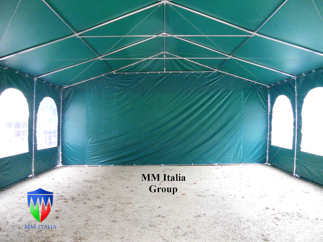 Strutture in Pvc Professionali 6 x 8 x 3,0 mt. pvc ignifugo mmitalia - 1