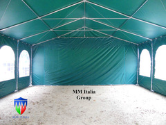 Strutture in Pvc Professionali 6 x 8 x 3,0 mt. pvc ignifugo mmitalia