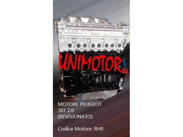 MOTORE PEUGEOT 307 2.0 (REVISIONATO)