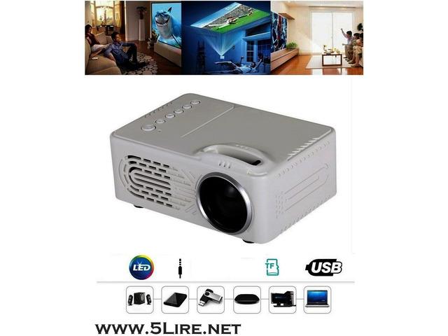 Mini proiettore portatile per casa e ufficio - 1