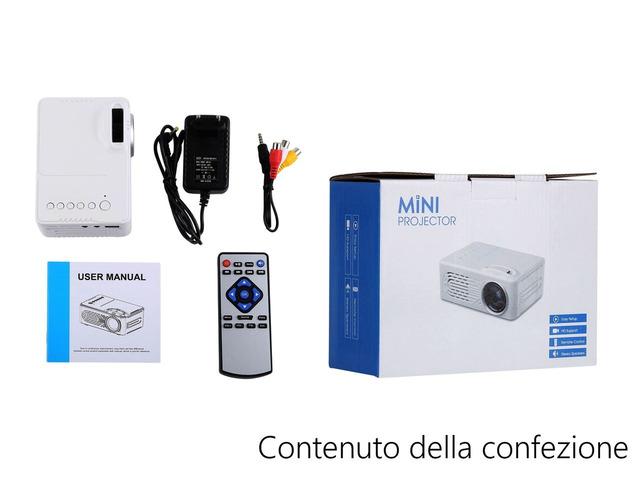 Mini proiettore portatile per casa e ufficio - 4