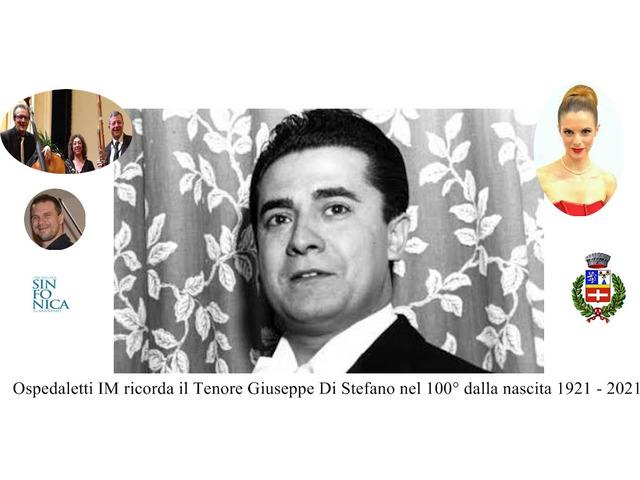 Giuseppe Di Stefano Tenore 100° Anniversario - 2