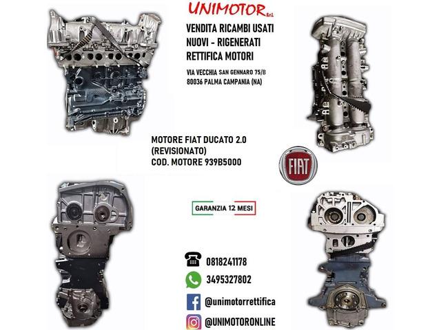MOTORE FIAT DUCATO 2.0 (REVISIONATO)