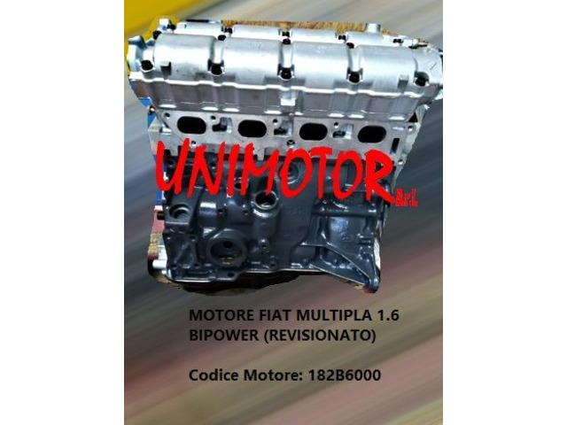 MOTORE FIAT MULTIPLA 1.6 BIPOWER (REVISIONATO)