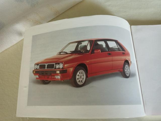 Libretti uso manutenzione Lancia Delta 1.5 - 1.6 - HF 1991 - 2