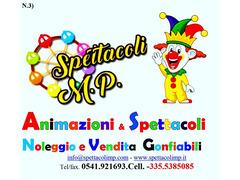 Organizzazione Spettacoli M.P I Professionisti al servizio del sorriso e     Della Comunicazione