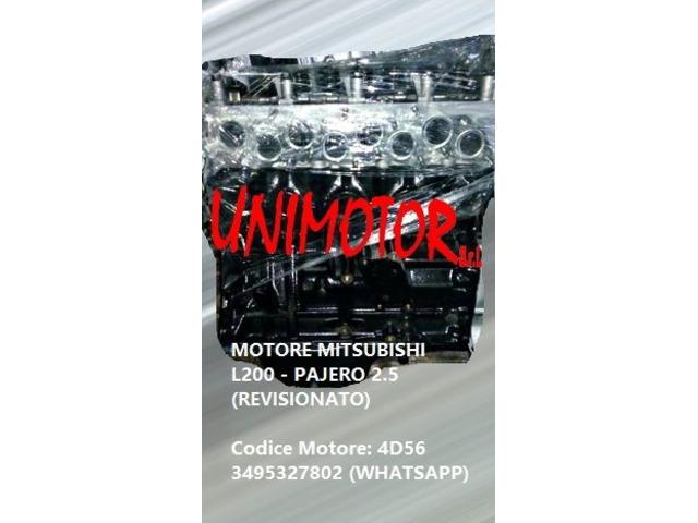 MOTORE MITSUBISHI L200 - PAJERO 2.5 (REVISIONATO) - 2