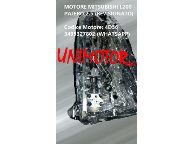 MOTORE MITSUBISHI L200 - PAJERO 2.5 (REVISIONATO) - 4