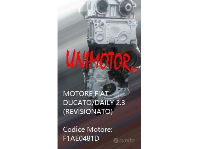 MOTORE FIAT DUCATO/DAILY 2.3 (REVISIONATO)