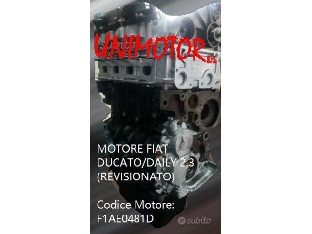 MOTORE FIAT DUCATO/DAILY 2.3 (REVISIONATO) - 2