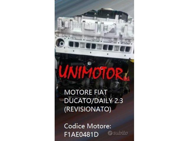MOTORE FIAT DUCATO/DAILY 2.3 (REVISIONATO) - 3