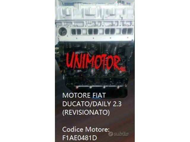 MOTORE FIAT DUCATO/DAILY 2.3 (REVISIONATO) - 4