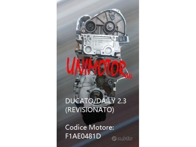 MOTORE FIAT DUCATO/DAILY 2.3 (REVISIONATO) - 5