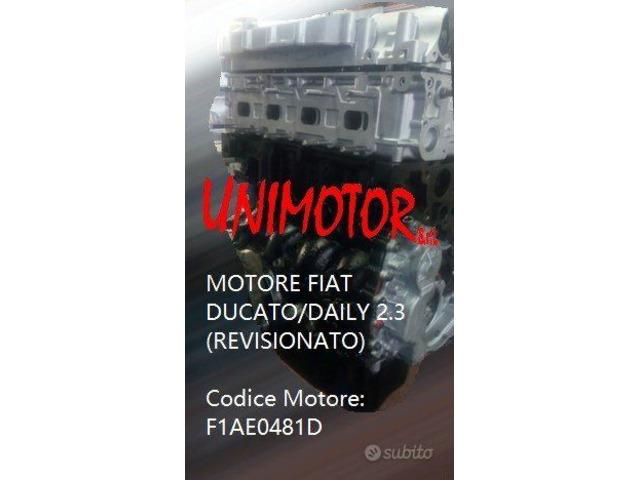 MOTORE FIAT DUCATO/DAILY 2.3 (REVISIONATO) - 6