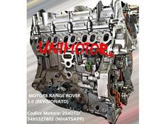 MOTORE RANGE ROVER 2.0 (REVISIONATO)