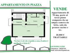Appartamento in piazza