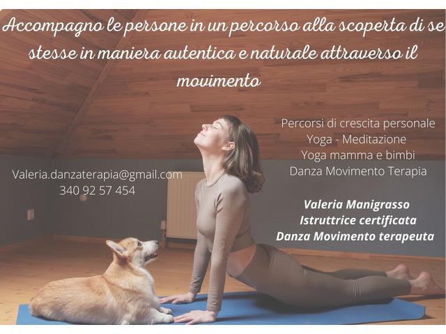 lezioni di pilates e yoga