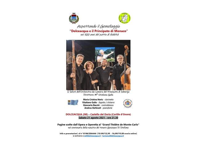 Orchestra Principato di Seborga in Concerto a Dolceacqua