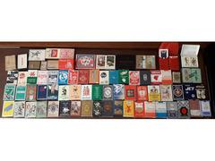 Dispersione collezione di n° 150   mazzi carte da gioco e tarot