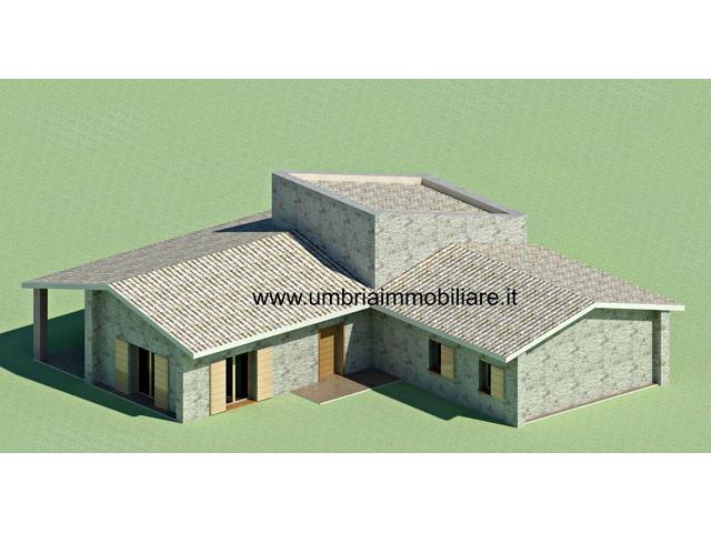 Rif. 430 terreno edificabile a San Terenziano di Gualdo Cattaneo - 3/6