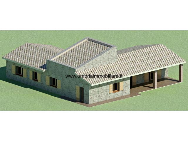 Rif. 430 terreno edificabile a San Terenziano di Gualdo Cattaneo - 4/6