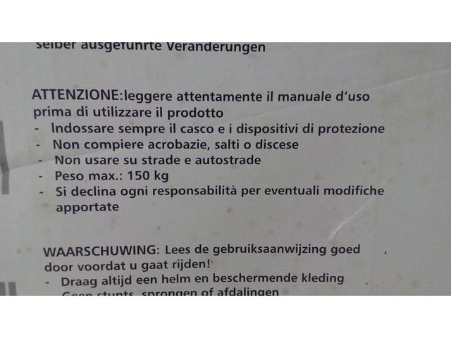 Monopattino Monociclo Monoruota Magic Wheel - 4/8