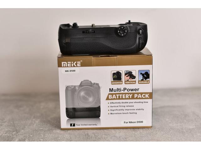 Nikon D500 + BG Meike (NO NITAL) - 4/5
