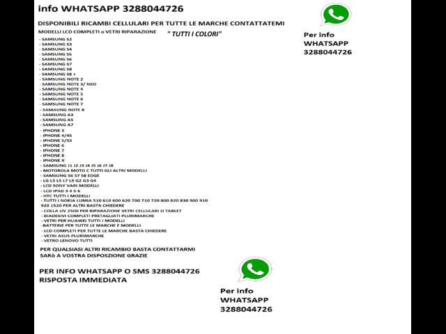 LCD DISPLAY TOUCH COMPLETO SMARTPHONE SCHERMO NUOVI - 2/2