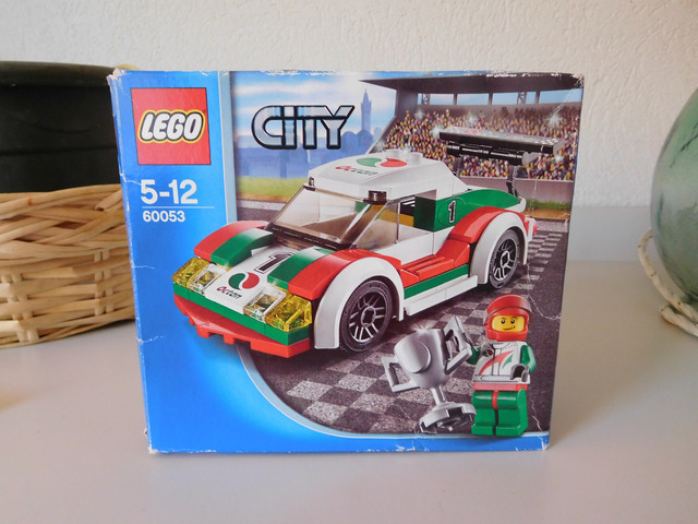 Automobile da corsa LEGO City mod. 60053