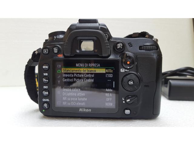 Nikon d7000-corpo maccina+obbiettivo - 4/8