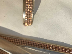 Cinturini ecopelle colore oro con strass rame - 3