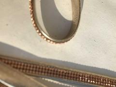 Cinturini ecopelle colore oro con strass rame - 6