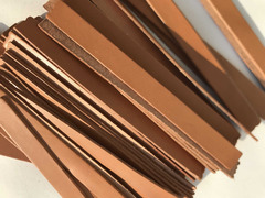 Cinturini pelle marrone per artigianato - 1
