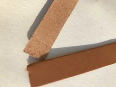 Cinturini pelle marrone per artigianato - 4