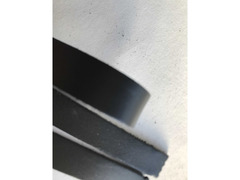 Cinturini pelle nera per artigianato - 7