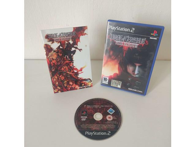 Dirge of Cerberus Final Fantasy VII - Playstation PS2 - Pal Ita Completo. - 1/1