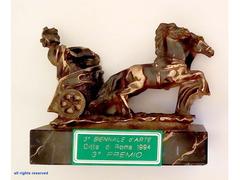 Trofeo Vincitore 3° Premio della 3° Biennale Città di Roma 1994
