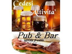 Pub  & Bar tavola fredda in Limito di Pioltello ad.ze Segrate (MI)