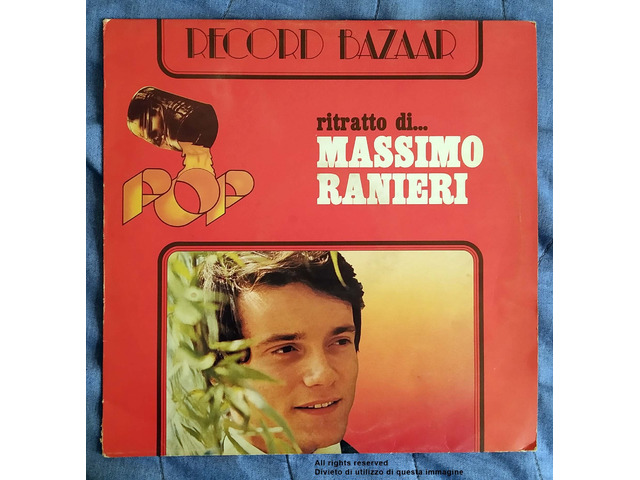 """Vendo LP Originale 33 Giri """"Ritratto di Massimo Ranieri"""" Stampato nel 1976 - 1/4"""