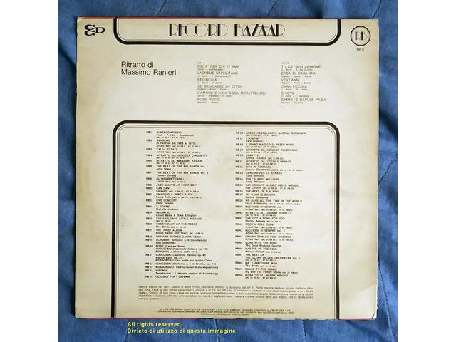 """Vendo LP Originale 33 Giri """"Ritratto di Massimo Ranieri"""" Stampato nel 1976 - 2/4"""