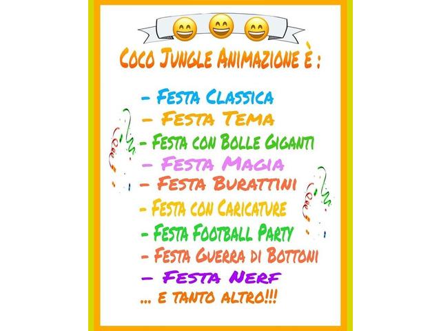 Feste di compleanno Coco Jungle Animazione - 5/7