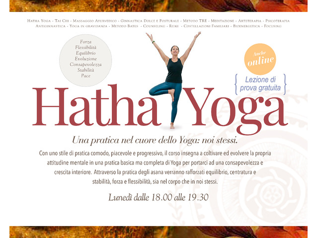 Corso di Hatha Yoga - 1/2