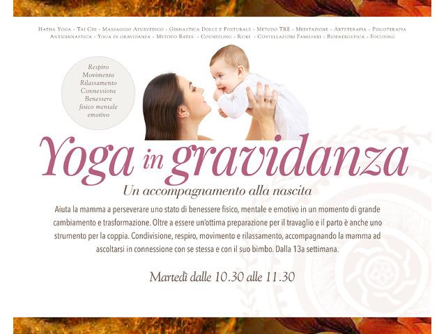 Corso di Yoga in gravidanza - 1/2