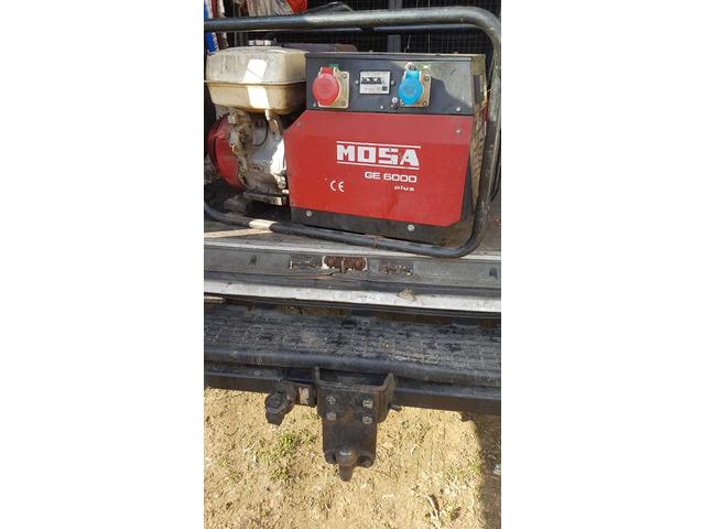 Generatore di corrente Mosa 6 KW 220v/380