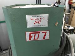 Merlotti FU7 cardatrice per suole