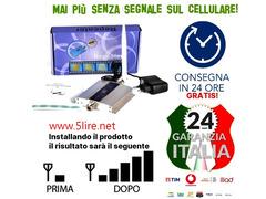 Ripetitore Amplificatore telefono cellulare GSM 900 MHZ