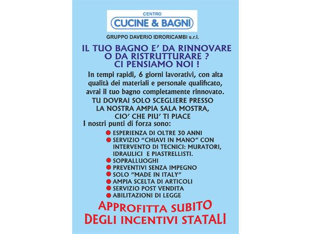 Sostituzione vasca con doccia,Varese,Gallarate,Cardano al Campo,Samarate - 6/7
