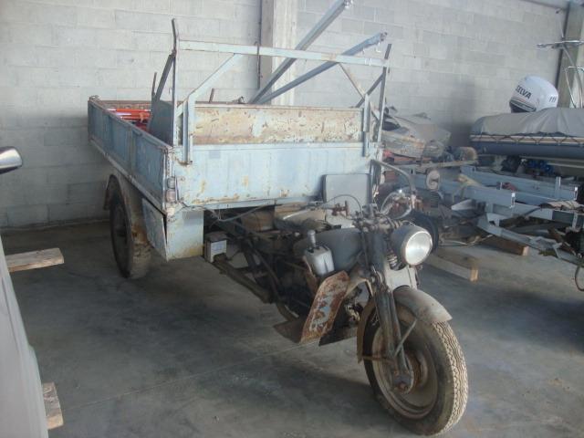 MOTOGUZZI ERCOLE 500CC CON CASSONE RIBALTABILE ANNO 1955/1956 - 1