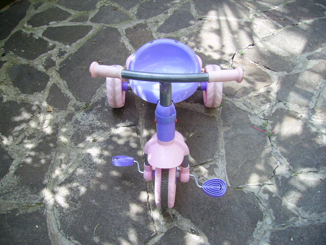Triciclo per bambina
