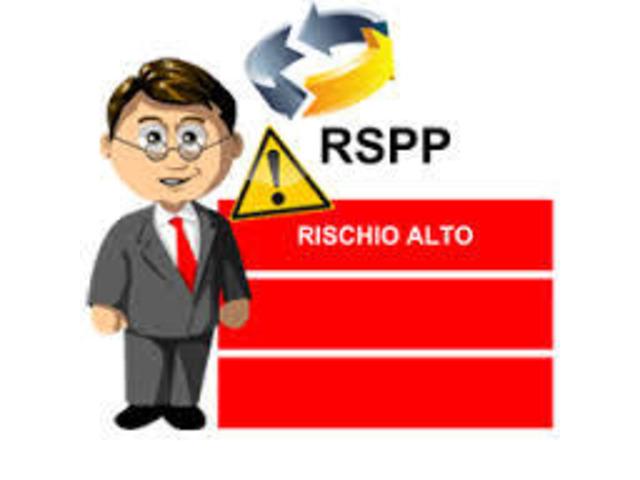 R.S.P.P. DL RISCHIO ALTO 48 ORE